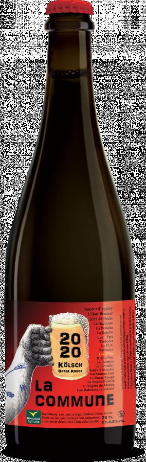 Bière 75cl Les2FÛTS Commune 2020