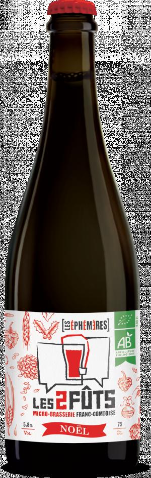 Bière 75cl Les2FÛTS Noël