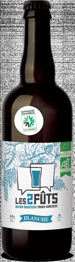 Bière 75cl Les2FÛTS Blanche