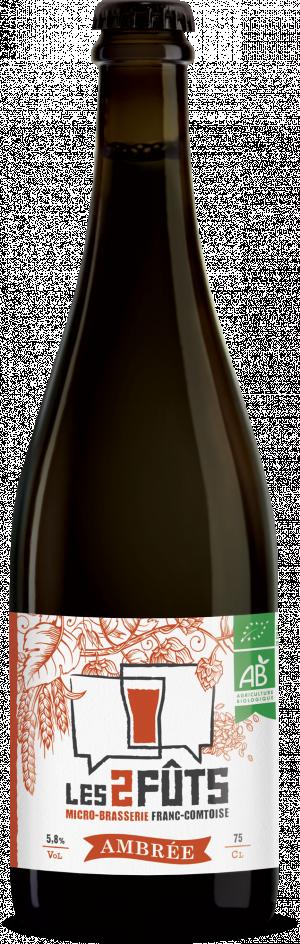Bière 75cl Les2FÛTS Ambrée