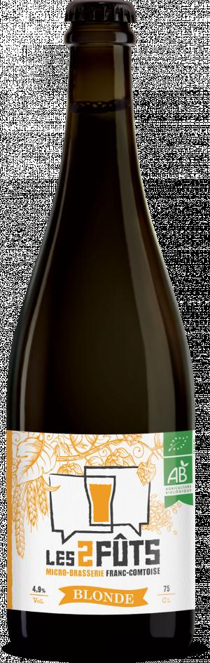 Bière 75cl Les2FÛTS Blonde