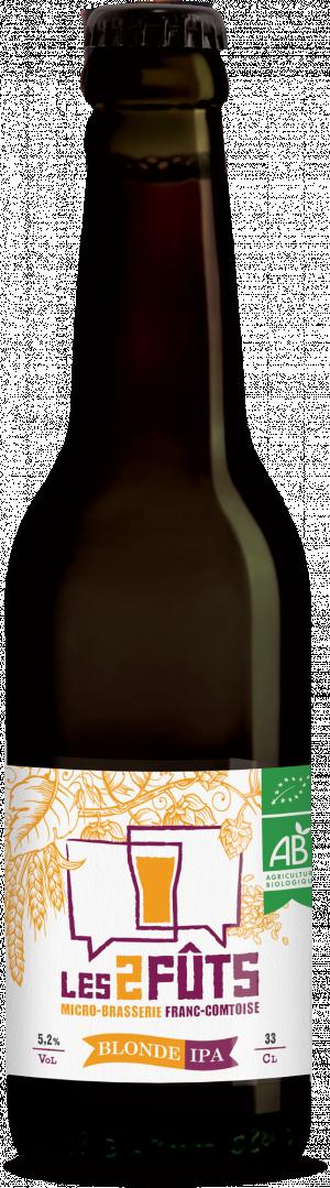 Bière 33cl Les2FÛTS Blonde IPA