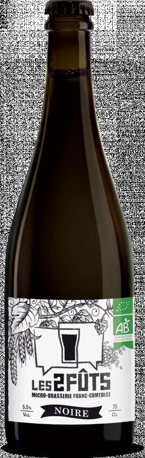 Bière 75cl Les2FÛTS Noire