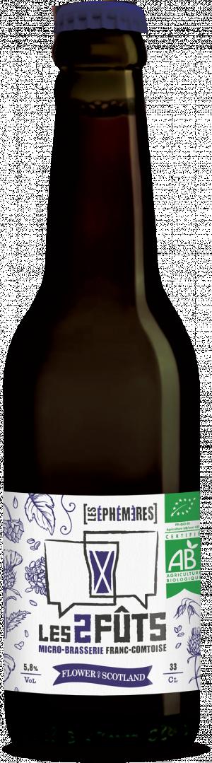 Bière 33cl Les2FÛTS Flower of Scotland