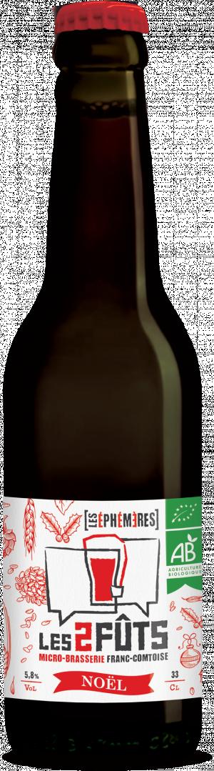 Bière 33cl Les2FÛTS Noël