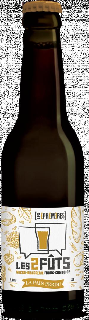 Bière 33cl Les2FÛTS La pain perdu