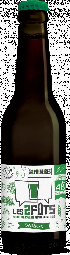 Bière 33cl Les2FÛTS SAISON