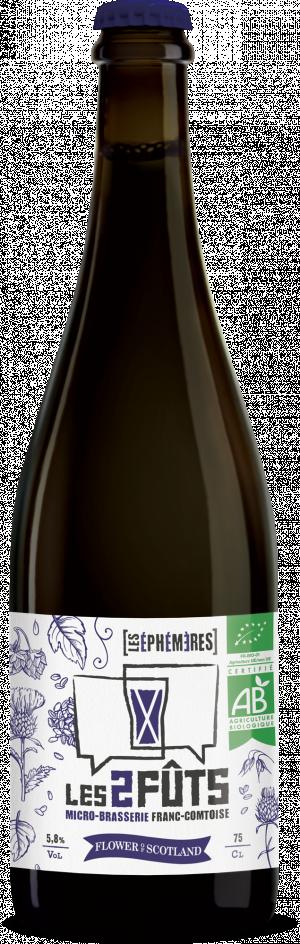 Bière 75cl Les2FÛTS Flower of Scotland