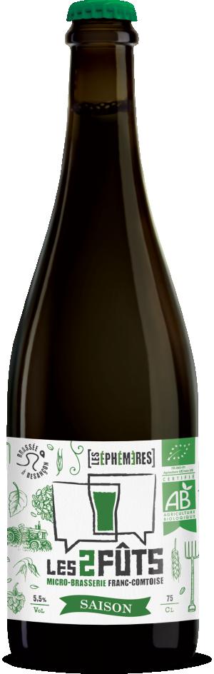 Bière 75cl Les2FÛTS SAISON