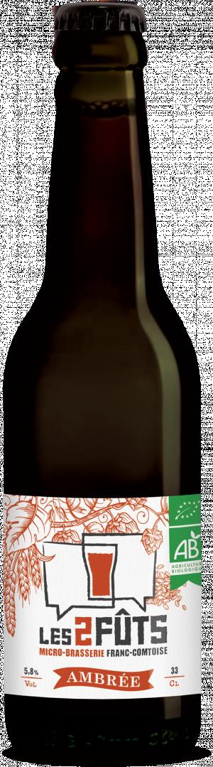 Bière 33cl Les2FÛTS Ambrée
