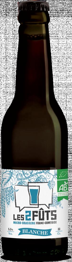 Bière 33cl Les2FÛTS Blanche