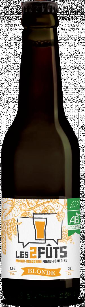 Bière 33cl Les2FÛTS Blonde