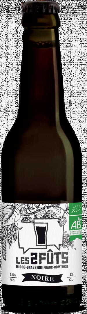 Bière 33cl Les2FÛTS Noire